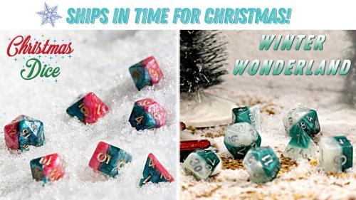 Halfsies Dice: The Christmas Edition