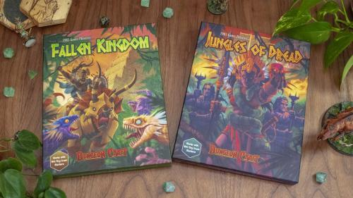 Dungeon Craft Series Three: Two New Terrain Books For D&D