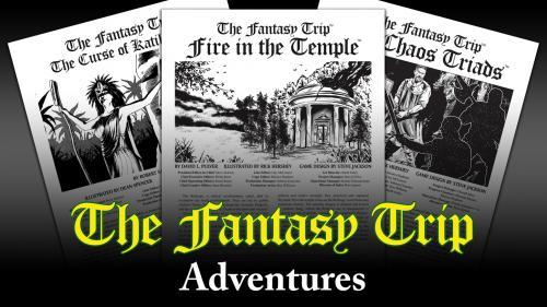 The Fantasy Trip Adventures