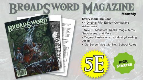 Broadsword Magazine