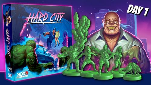 Hard City the Board Game