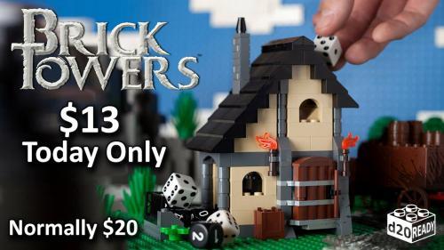 Dice Tower Brick Set