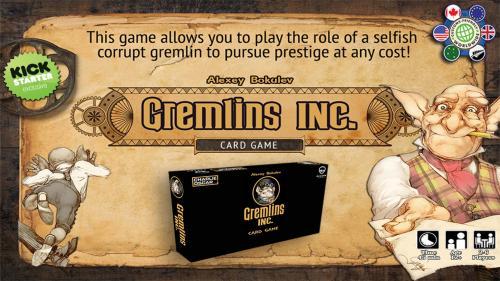 """""""Gremlins, Inc."""" Card Game"""