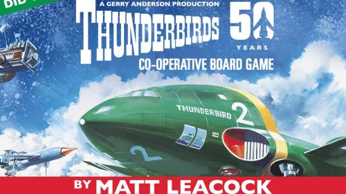 The Thunderbirds Co-operative Board Game by Matt Leacock