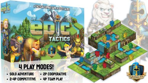 Tiny Epic Tactics - Featuring a 3D Environment