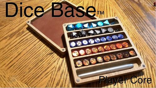 Dice Base: Player Core Vault - Organizer - Rolling Surface