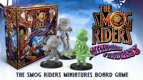 THE SMOG RIDERS Dimensions of Madness