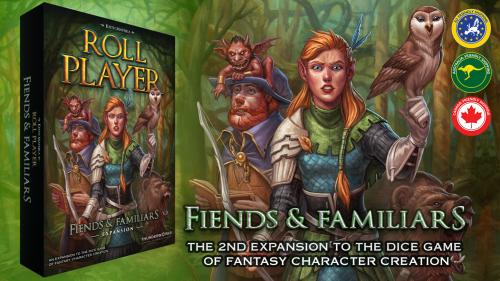 ROLL PLAYER - Fiends & Familiars Expansion