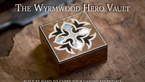 Wyrmwood Hero Vault - Built to Carry your Gaming Essentials