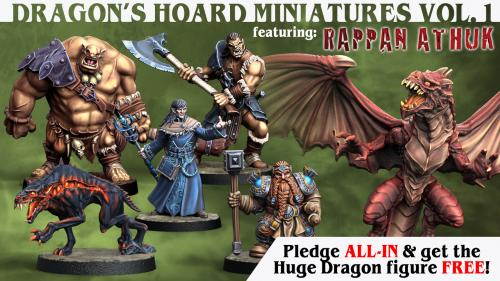 Next Level Miniatures: Dragon s Hoard Miniatures Vol. 1
