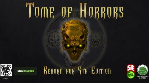 Tome of Horrors: Reborn for Fifth Edition