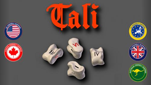 TALI - Historic Roman Game of KnuckleBones for 2-6 players