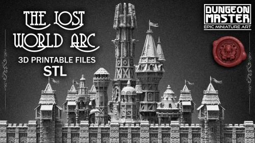 Dungeon Master - THE LOST WORLD ARC - 3D printable STL files