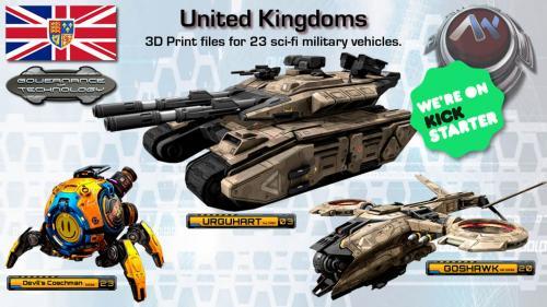 "UKS ""Governance of Technology"" 3D Printable Vehicles"