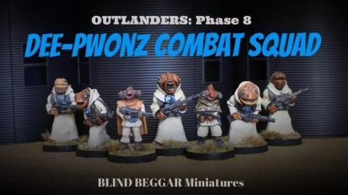 Dee-Pwonz Combat Squad (Outlanders Phase 8) Sci-Fi Aliens