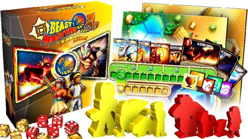 Beast Masters Duel: A Dueling Game with Custom Meeples