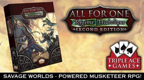 All for One: Regime Diabolique 2nd Edition (Savage Worlds)