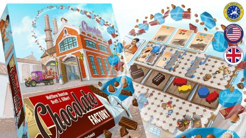 Chocolate Factory - For 1-4 chocolatiers!