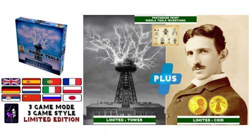 Nikola Tesla Limited Edition Game