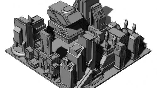 Vega City Hab Blocks