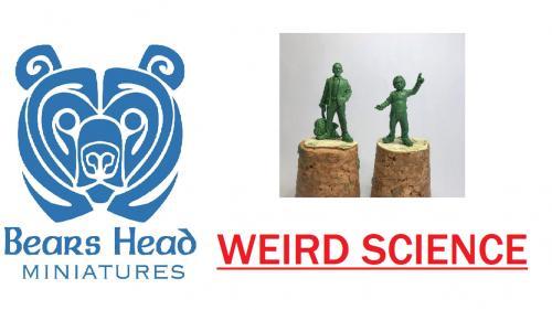 Bears Head Miniatures Weird Science
