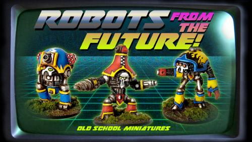 OSM presents: Robots from the future!