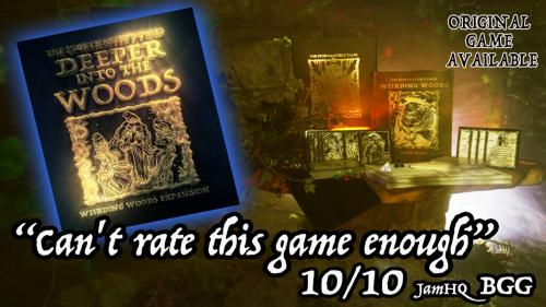 """The StoryMaster s Tales """"Deeper into the Woods"""" Hybrid RPG"""