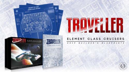 Traveller RPG: Element Class Cruisers Box Set
