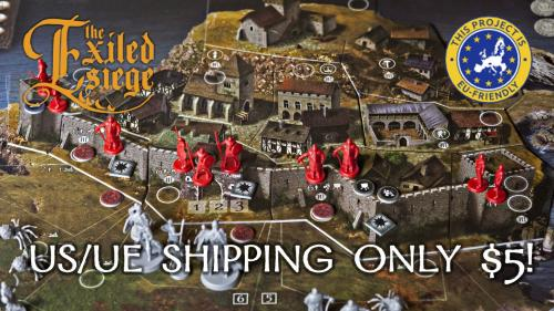 The Exiled: Siege (Tactics expansion and core box)