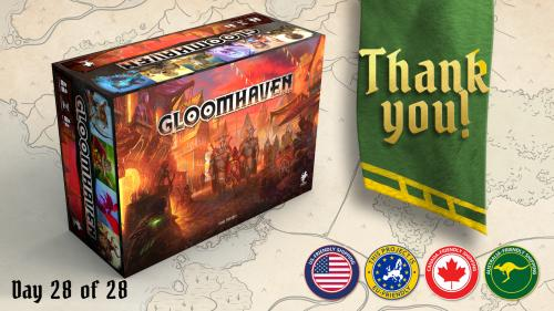 Gloomhaven (Second Printing)