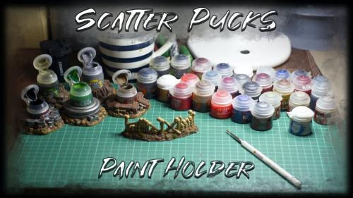 Scatter Pucks - Paint Holder