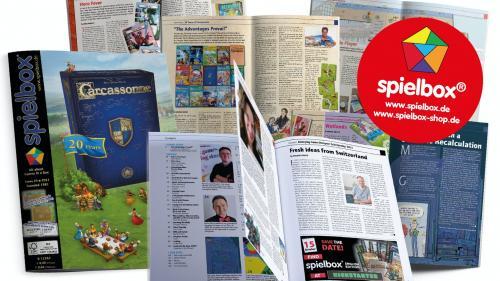 spielbox 2022 (English Edition) - Board Game Magazine