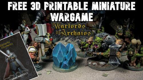 The Free 3D Printable Miniature Wargame