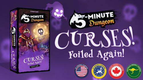 5-Minute Dungeon: Curses! Foiled Again! Expansion