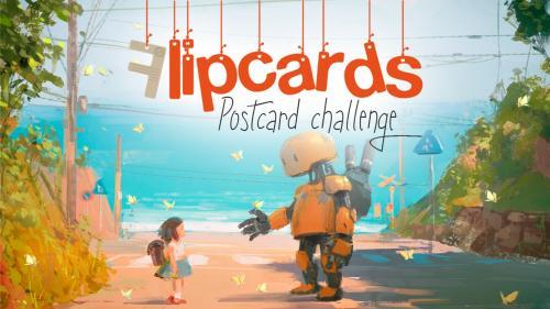 Flipcard: the Postcard Challenge