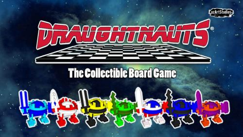 DRAUGHTNAUTS! The Collectible Board Game