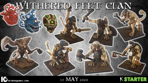 Withered Feet Clan - Fomorian miniatures