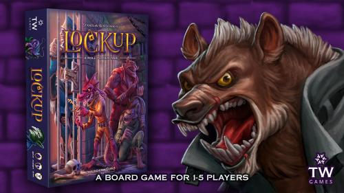Lockup: A Roll Player Tale - A Board Game for 1-5 Players