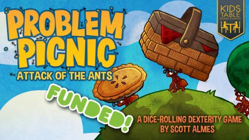 Problem Picnic: Attack of the Ants • Action-packed dicefest!