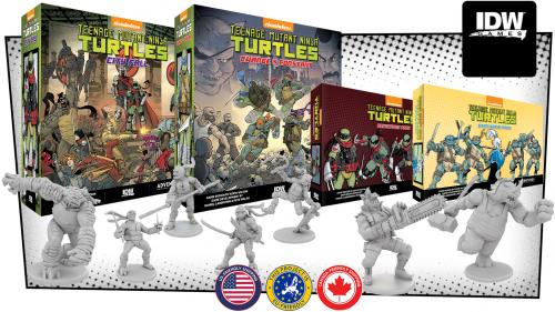 Teenage Mutant Ninja Turtles Adventures City Fall