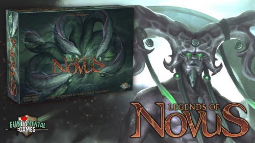 Legends of Novus, a tabletop fantasy adventure board game!