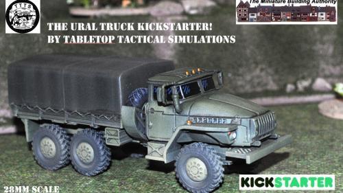 28mm URAL Truck