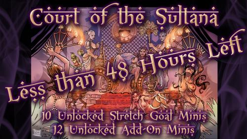 Court of the Sultana by Effincool Miniatures
