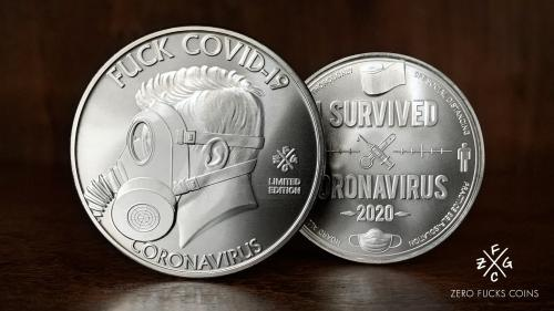 Fuck COVID-19 :: I Survived Coronavirus 2020 Coin!