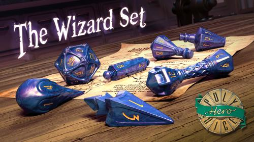 PolyHero Dice - Wizard Set