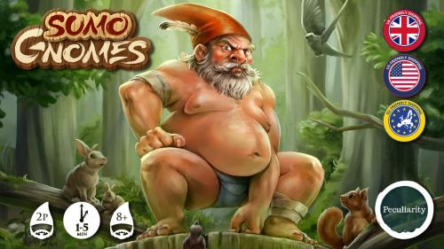 Sumo Gnomes : Pocket sized wrestling!