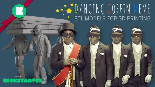 3D Printing Dancing Coffin Meme