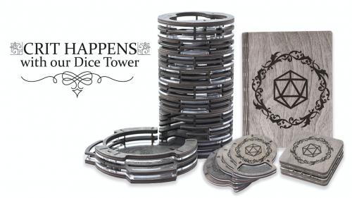 D&D Dice Tower & Other Dungeons and Dragons accessories!