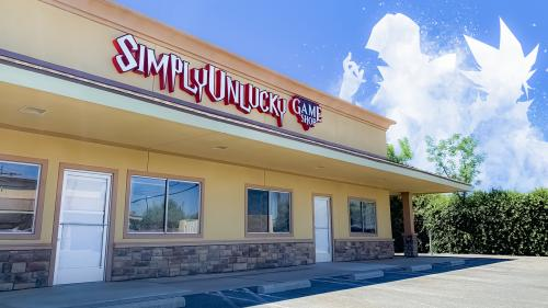 The SimplyUnlucky Game Shop