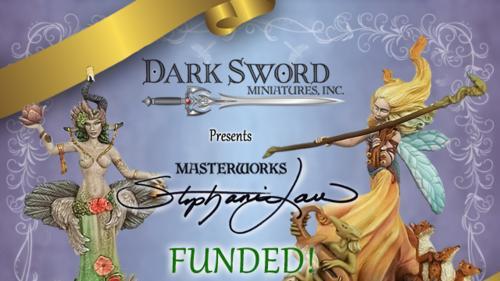 Dark Sword Miniatures New Range - Stephanie Law Masterworks